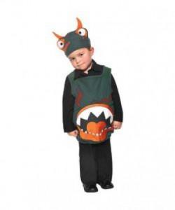 Monster kostume - et spændende fastelavnskostume til børn