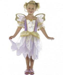 Alfe prinsesse udklædning købt i en online webshop